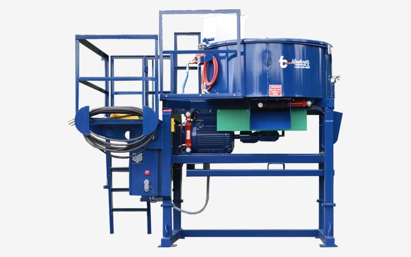 2200 lb Shotcrete Pan Mixer